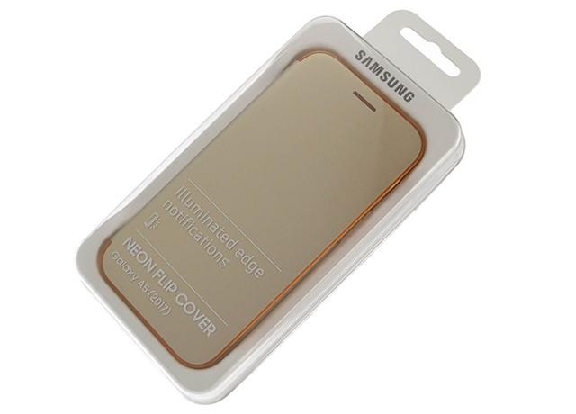 Samsung Galaxy A5 (2017) Neon Flip Cover Gold