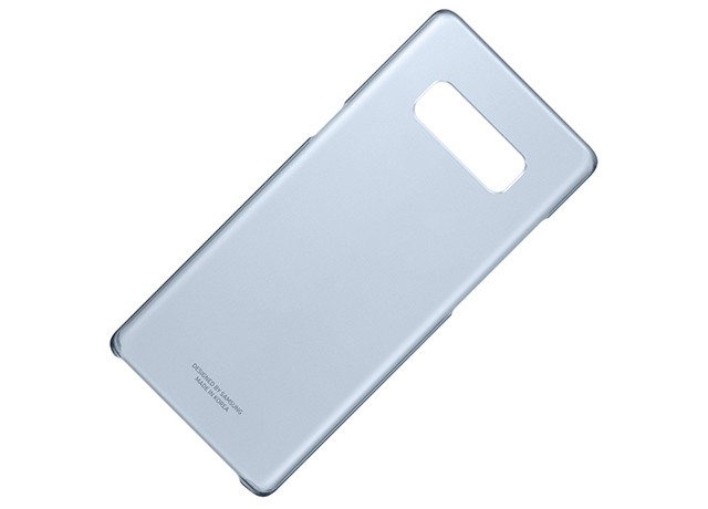 Samsung Galaxy Note 8 Clear Cover Blue