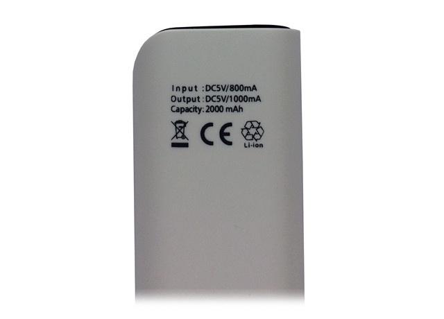 Power Bank Bel Company 2000mAh