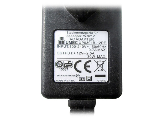 Zasilacz UMEC UP0301B-12PE 12V 30W