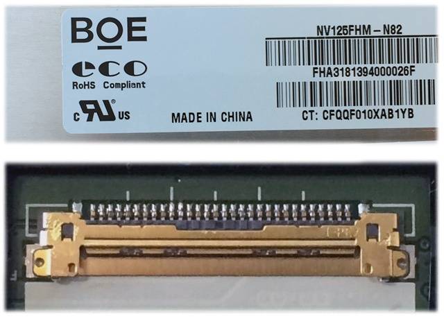 BOE NV125FHM-N82