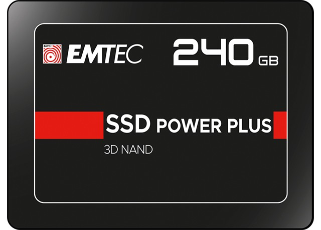 EMTEC X150 SSD Power Plus 240GB przód