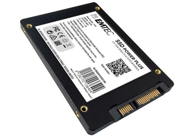 EMTEC X150 SSD Power Plus 240GB porty