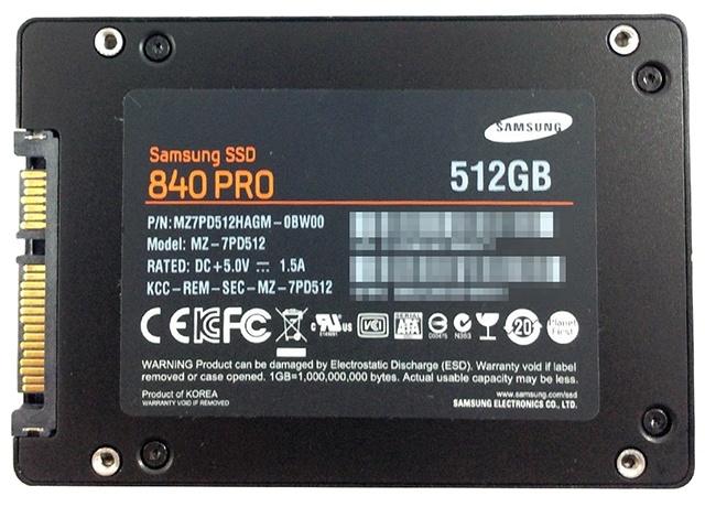 Samsung MZ-7PD512 512GB SSD