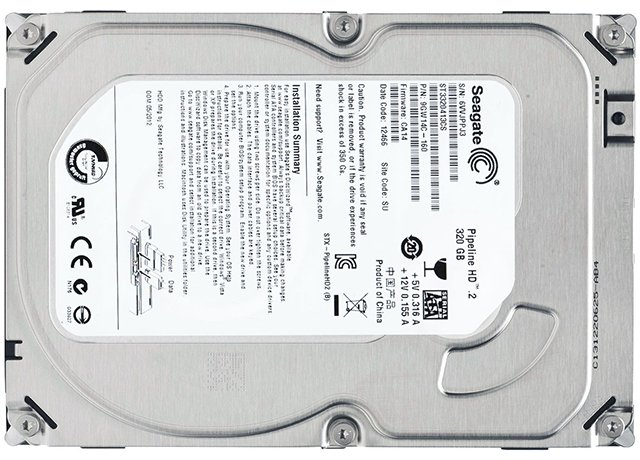 HDD Seagate Pipeline ST3320413CS