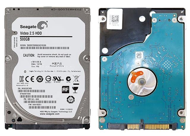 SEAGATE ST500VT000 500 GB
