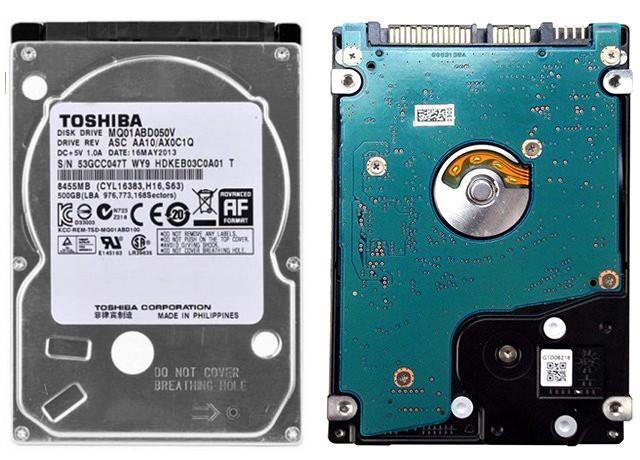 Toshiba MQ01ABD050V