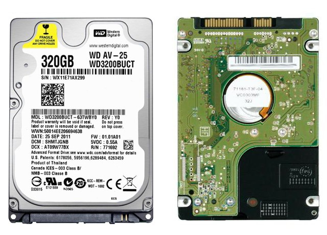 WD3200BUCT
