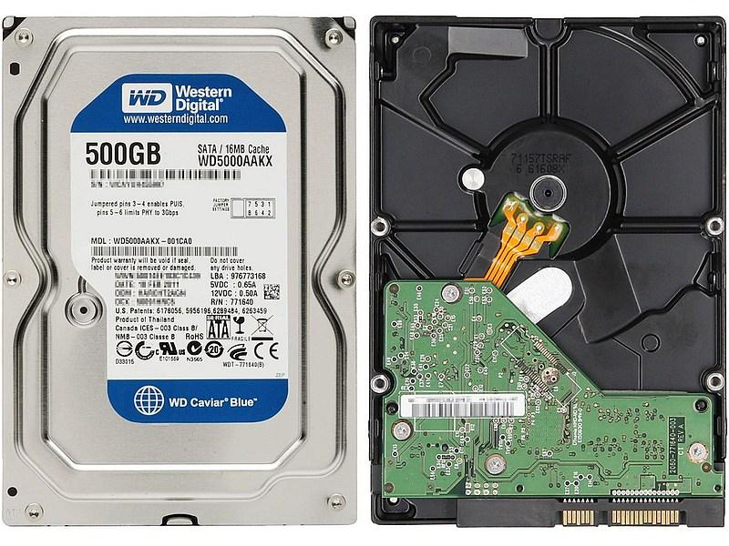 HDD Western Digital Caviar Blue WD5000AAKX 7200.10