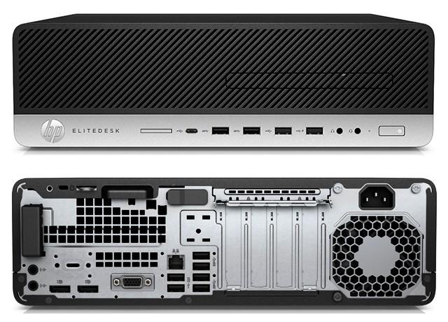 HP EliteDesk 800 G3 SFF porty