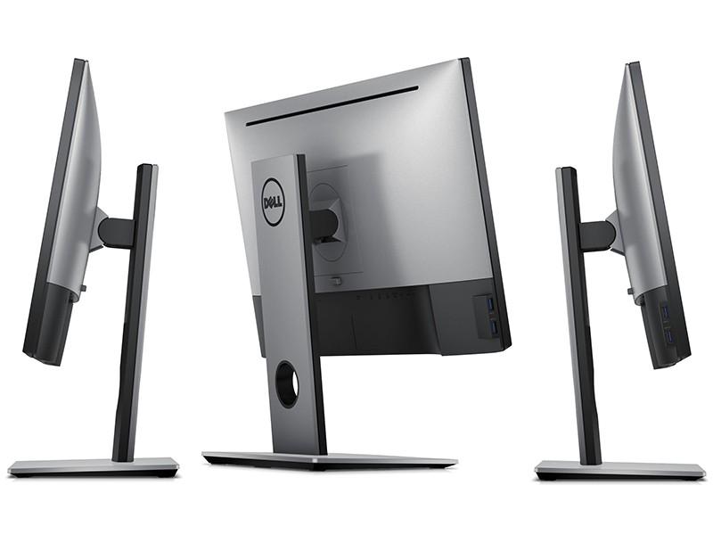 Dell Ultrasharp U2417H InfinityEdge boki tył