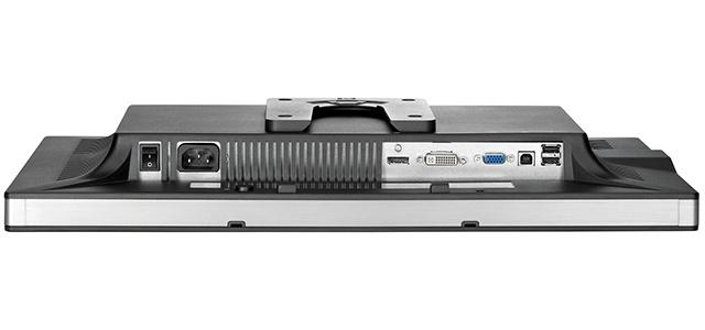 Monitor HP zr22w złącza