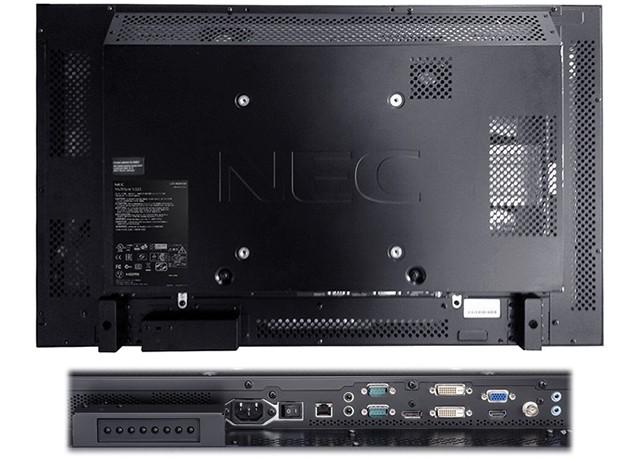 NEC Multisync V323 porty