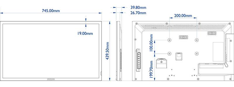 Philips Q-Line BDL3220QL