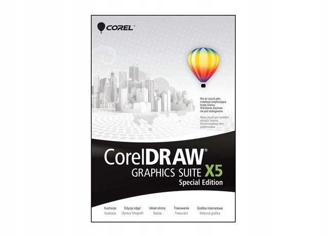 CorelDRAW Graphics SUITE X5 Special Edution PL BOX