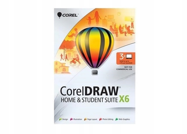 CorelDRAW Home & Student SUITE X6 PL BOX