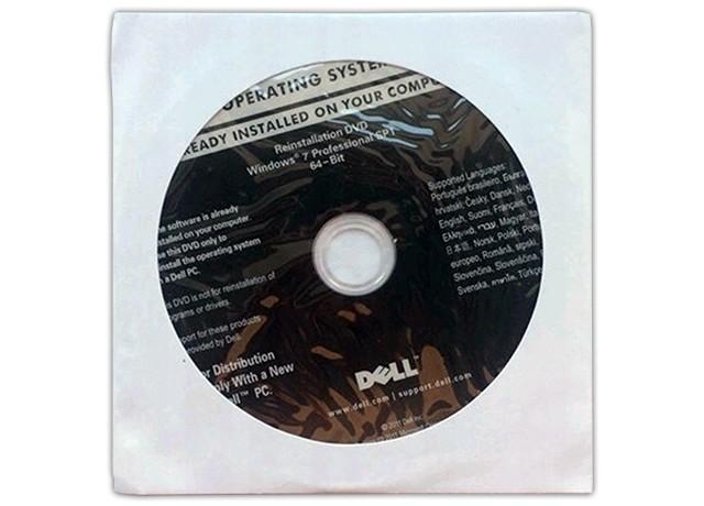 MS Windows 7 PRO 64-bit DVD Dell