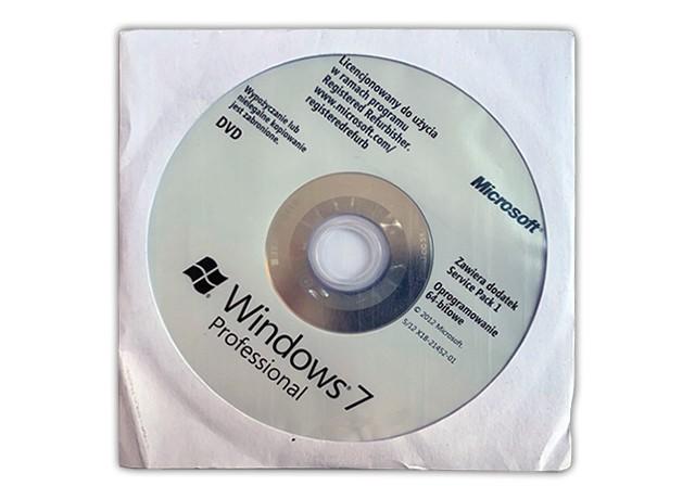 MS Windows 7 PRO 64-bit DVD