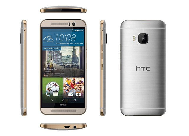 HTC One M9 Silver Gold