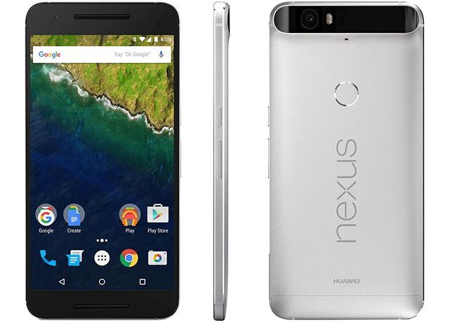 Huawei Nexus 6P Aluminium tył przód bok