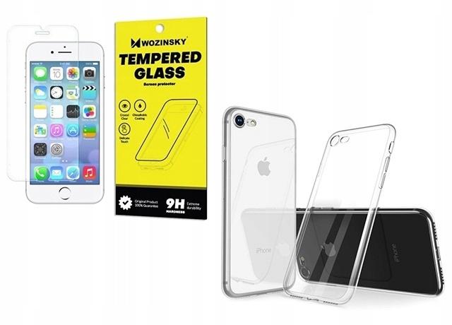 Apple iPhone 8 etui + szkło hartowane