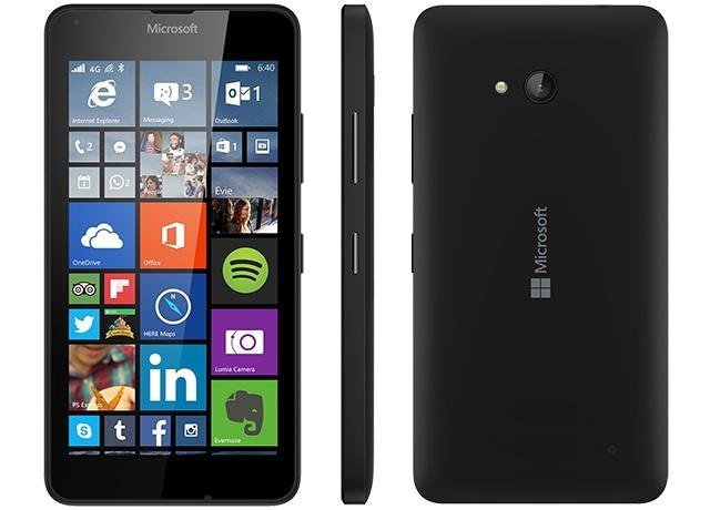 Microsoft Lumia 640 (RM-1152) Black