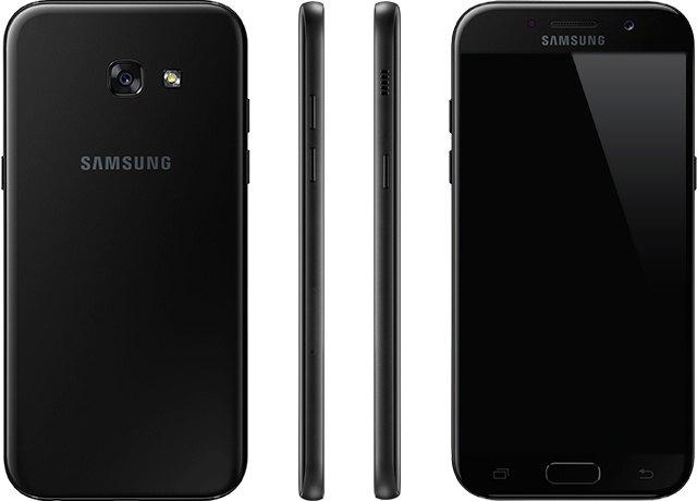 Samsung Galaxy S5 2017 Black Sky